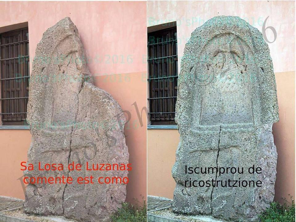 Stele Tomba dei Giganti di Luzzanas - Ozieri